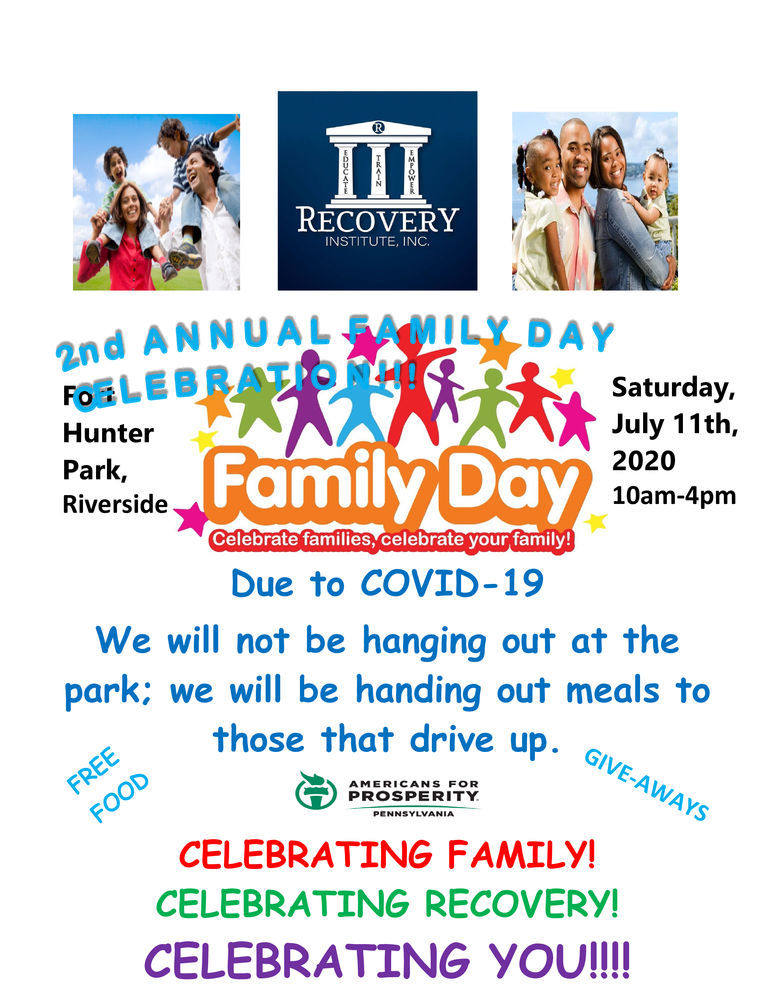Family Day Flyer 2020